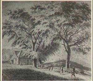 De Blinkert, een duintop bij de (nog bestaande) herberg 'Kraantje Lek' bij Overveen