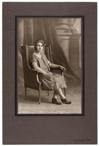 Portret van Marie Reiniera van den Bos (1906-2009)