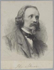 Portret van John George Schwartze