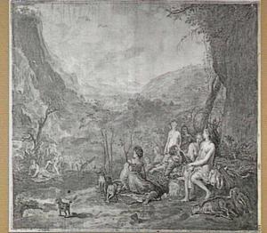 Diana en Callisto (Metamorfosen 2:442-453; Fasti 2:155-192)