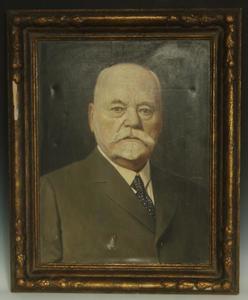 Portret van Willem Hendrik van Loon (1855-1935)