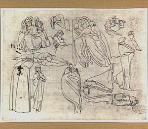Personages uit Dante's 'Divina Commedia'