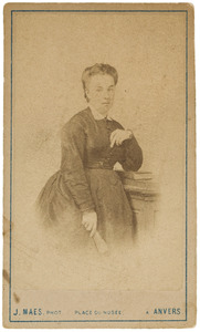 Portret van Annette Marie Winkelman (1840-1927)