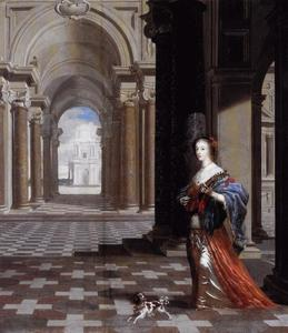 Portret van Henrietta Maria de Bourbon (1609-1669), koningin van Engeland