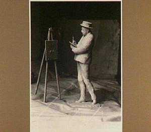 Portret van de kunstenaar Marius Bauer (1867-1932)