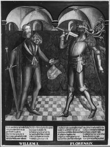 Haarlemse gravenportretten: Willem I en Floris IV