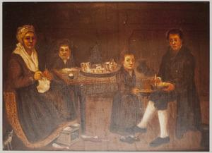 Portret van de familie van Barend van den Bosch (1775-1839)