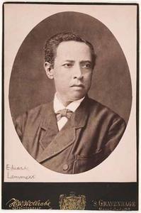 Portret van Eduard Lammers
