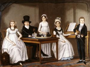 Portret van de kinderen van Jasper Ganderheyden (1755-1829)