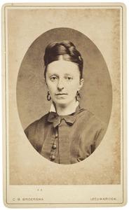 Portret van Lucia Columba Murray Bakker (1840-1930)