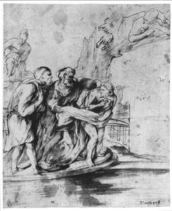Suzanna belaagd door de ouderlingen (Daniel 13:1-64)