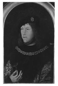 Portret van een man, mogelijk Christiaan II van Denemarken
