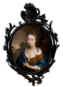 Portret van Josina van Loon (1674-1736)