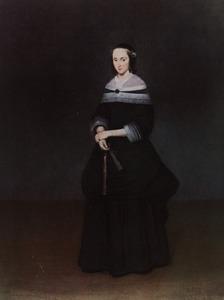 Portret van Johanna Quadacker (1640-1672)