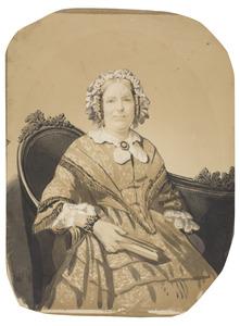 Portret van Susanna Sophia Ortt (1806-1875)