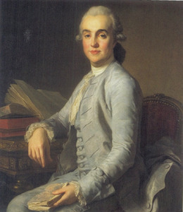 Portret van Gustaf Adolf Sparre (1746-1794)