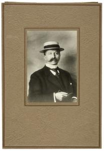 Portret van Gerrit Sijtsma (1880-)
