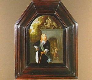 Portret van Jacobus van der Bergh (1639-....)