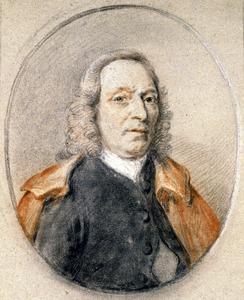 Portret van Albertus de la Haye ( -1774)