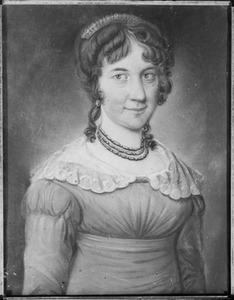 Portret van Elisabeth Jeanne Judith d' Aumerie (1787-1835)