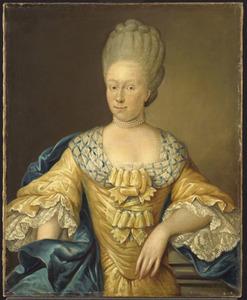 Portret van Adriana Johanna van Heusden (1741-1800)