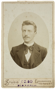 Portret van Wopke Heeg (1877-1956)