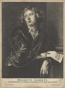 Portret van Henricus Liberti (1600-1669)