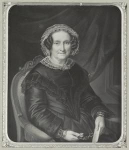 Portret van waarschijnlijk Cornelia Catharina Hodshon (1794-1871)