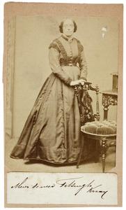 Portret van Grietje Kraay (1821-1895)