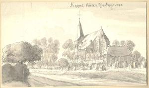Keppel, gezicht op het dorp met de kerk