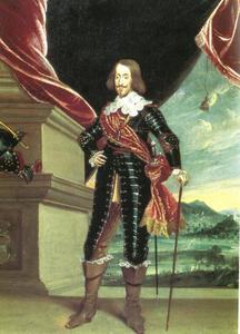 Portret van aartshertog Leopold Wilhelm (1614-1662) van Oostenrijk, stadhouder der Spaanse Nederlanden van 1647 tot 1657