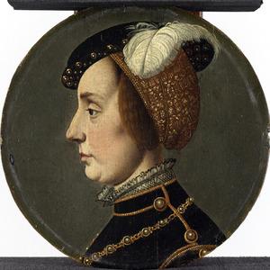 Portret van Anna van Lotharingen (1522-1568)