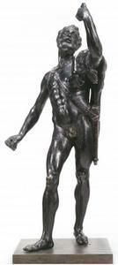 Hercules met de leeuwenhuid