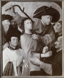 De doornenkroning van Christus met stichtersportret