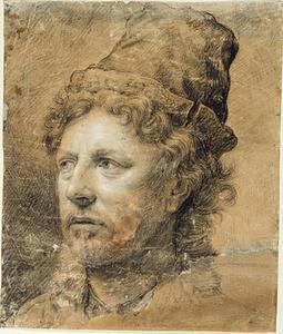 Portret van de kunstenaar Anthonie Waterloo (1609-1690) (?)