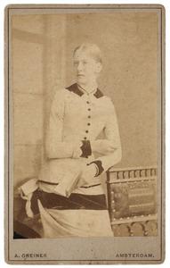 Portret van Elisabeth Maria Josepha Westerwoudt (1859-1936)