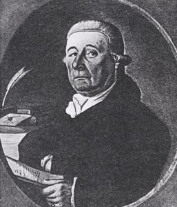 Portret van Johannes Koning (1733-1808)