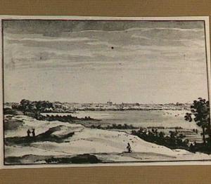 Haarlem, gezien vanuit de duinen