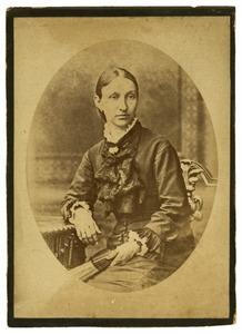 Portret van Anna Gerardina Monod de Froideville (1844-1882)