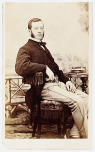 Portret van Willem Diderik Liefsting (1821-1911)