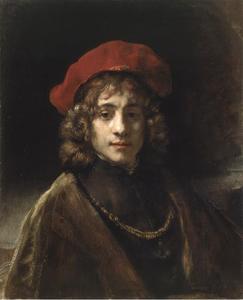 Portret van Titus