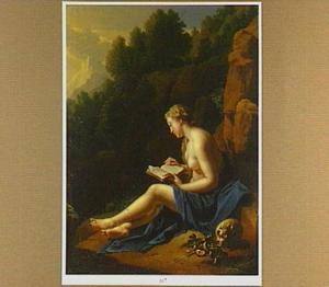 De boetvaardige Maria Magdalena in de wildernis