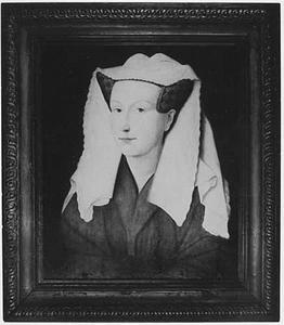 Portret van Margaretha, echtgenote van de schilder Jan van Eyck