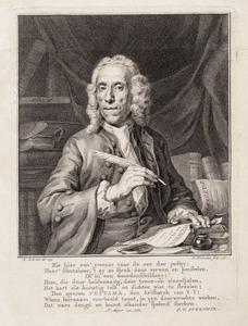 Portret van Sybrand Feitama (1694-1758)