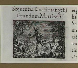 De parabel van het onkruid tussen de tarwe (Mattheüs 13:24-30)