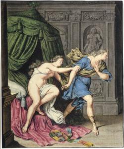 Jozef en de vrouw van Potifar (Genesis 39:12)