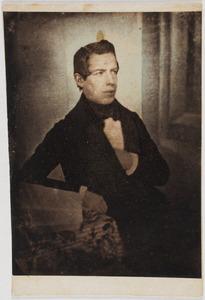 Portret van Arius Fockema (1821-1853)