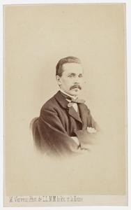 Portret van Eduard Karel van der Ven (1834-1867)