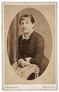 Portret van Maria Catharina Charlotta de Vlaming (1862-1903)