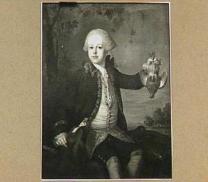 Portret van Willem Anna baron van Wassenaar (1747-1785)